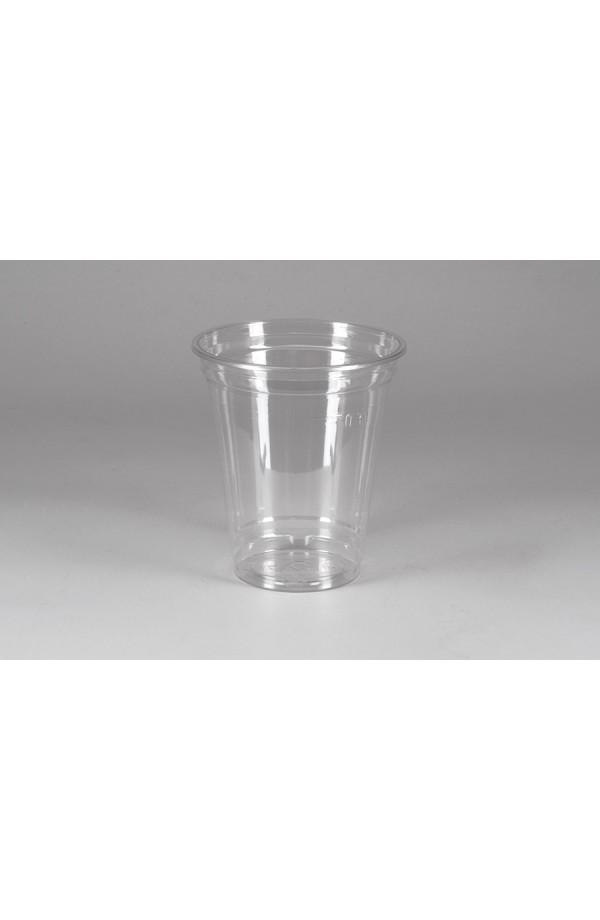 Стакан РЕТ прозрачный для коктейлей 300мл Ǿ=95мм, h=107мм