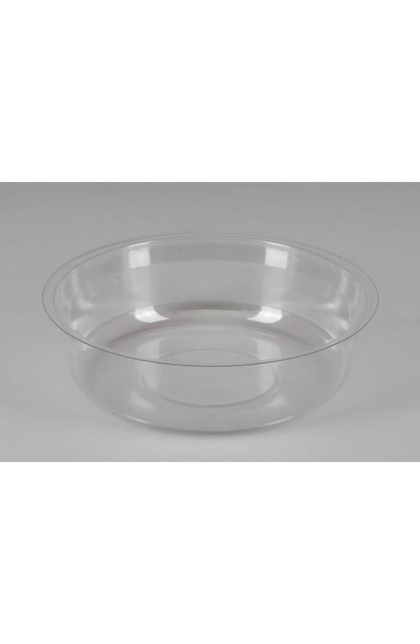 Вставка в ПЭТ стакан (делитель) РЕТ прозрачная Ǿ=95мм, h=13,5мм