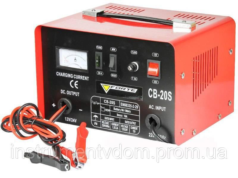 Зарядное устройство FORTE CВ-20S