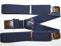 Подтяжки VANLET Y 4 см синий 20000