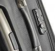 Удобный чемодан среднего размера на 2-х колесах 68 л. VERUS Monte Carlo, MC.24.grey серый, фото 6
