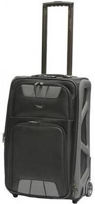 Удобный чемодан среднего размера на 2-х колесах 68 л. VERUS Monte Carlo, MC.24.grey серый