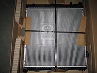 Радиатор охлаждения двигателя MERCEDES-BENZ E (124) (пр-во Nissens). 62764A