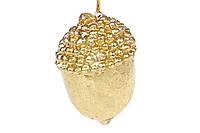 Декоративная фигурка-подвеска Золотой Желудь, 7см