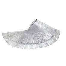 Палитра-веер прозрачная 50 шт