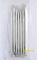 Набор инструментов для лепки, металлические двухсторонние петли, 7 шт.