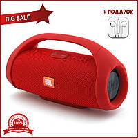 Портативная bluetooth колонка JBL Boombox mini красный. Жбл бумбокс