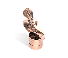 Версия-Люкс (Кривой-Рог) Флюгер из нержавейки 0,5 мм, диаметр 120мм