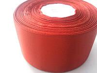 Лента атласная красная 50 мм бобина 23 м