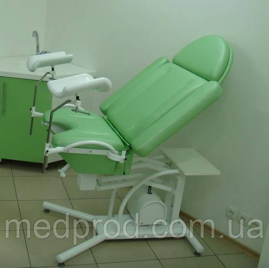 Кресло гинекологическое смотровое КС-3РГ с гидравлической регулировка высоты