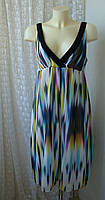 Платье женское легкое летнее сарафан миди бренд Next р.48, фото 1