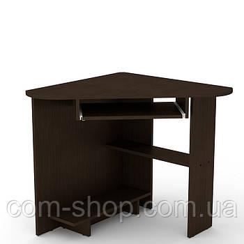 Стол письменный СУ-15 венге темный  (76х76х74 см)