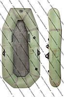 Резиновая гребная лодка Лисичанка полуторка (для рыбалки и охоты)