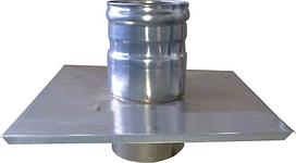 Версия-Люкс (Кривой-Рог) Окончание из нержавейки 0,5 мм, диаметр 100мм