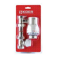 Комплект для подключения радиатора KOER KR.1321 1/2''