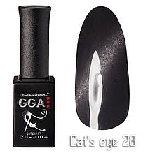 Гель лак GGA Professional Cat's Eye №28 10 мл