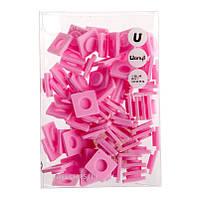 Пиксели Big 80 шт розовый Upixel  Upixel (WY-P001B)