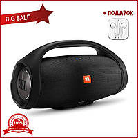 Портативная Bluetooth-колонка JBL Boombox BIG c функцией PowerBank и FM radio черная