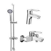 Комплект смесителей для ванной комнаты HAIBA HANSBERG.SET - 1