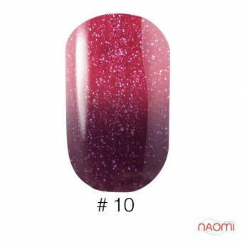 Гель-лак Naomi Thermo Collection 10, 6 мл