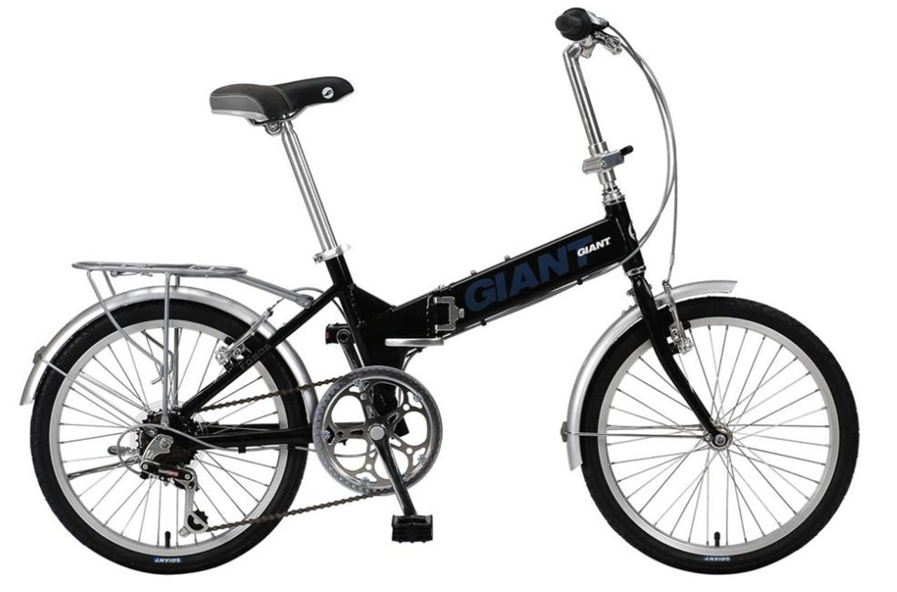Городской складной велосипед Giant FD 806 черный (GT)