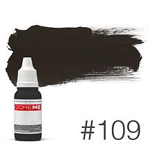 Пигмент для татуажа Doreme LIQUID 109 Charcoal 15 мл