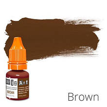 Пигмент для татуажа WizArt Strong Brown 5 мл