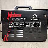 Зварювальний напівавтомат інверторного типу Сталь MIG-240, фото 6