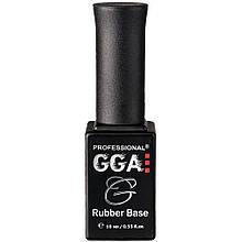 Каучуковая база под гель лак GGA Professional Rubber Base 10 мл
