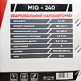Сварочный полуавтомат инверторного типа Сталь MIG-240, фото 10