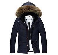 Мужская куртка пуховик, разные цвета  МК-209-О, фото 1