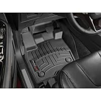 Передні лайнери Fiat 500 2007-19 чорні Механіка | Автоковрики WeatherTech 443691