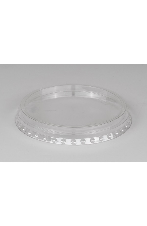 Крышка РЕТ прозрачная плоская без отверстия Ǿ=95мм, h=13,5мм