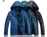 Мужская куртка пуховик, разные цвета  МК-210-О, фото 1