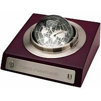 Настольные часы Глобус