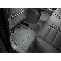 Коврики Volkswagen Golf 2004-12 чорні кліпси овальні Octavia передние   Автоковрики WeatherTech 440801