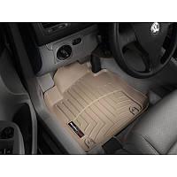 Коврики Volkswagen Golf 2004-12 сірі кліпси круглі Octavia передние   Автоковрики WeatherTech 462691