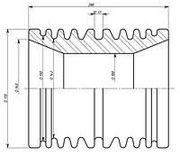 Изоляторы фарфоровые проходные ИП-10-100-1 02, Изолятор ИП-10-100-1 02, Изоляторы ИП-10-100-1 02