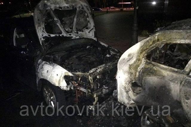 В Киеве снова жгут автомобили (+ВИДЕО)