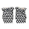 Муфта Womar (Zaffiro) MUF 2in1  geo black&white limited (черно-белый ромб), фото 2