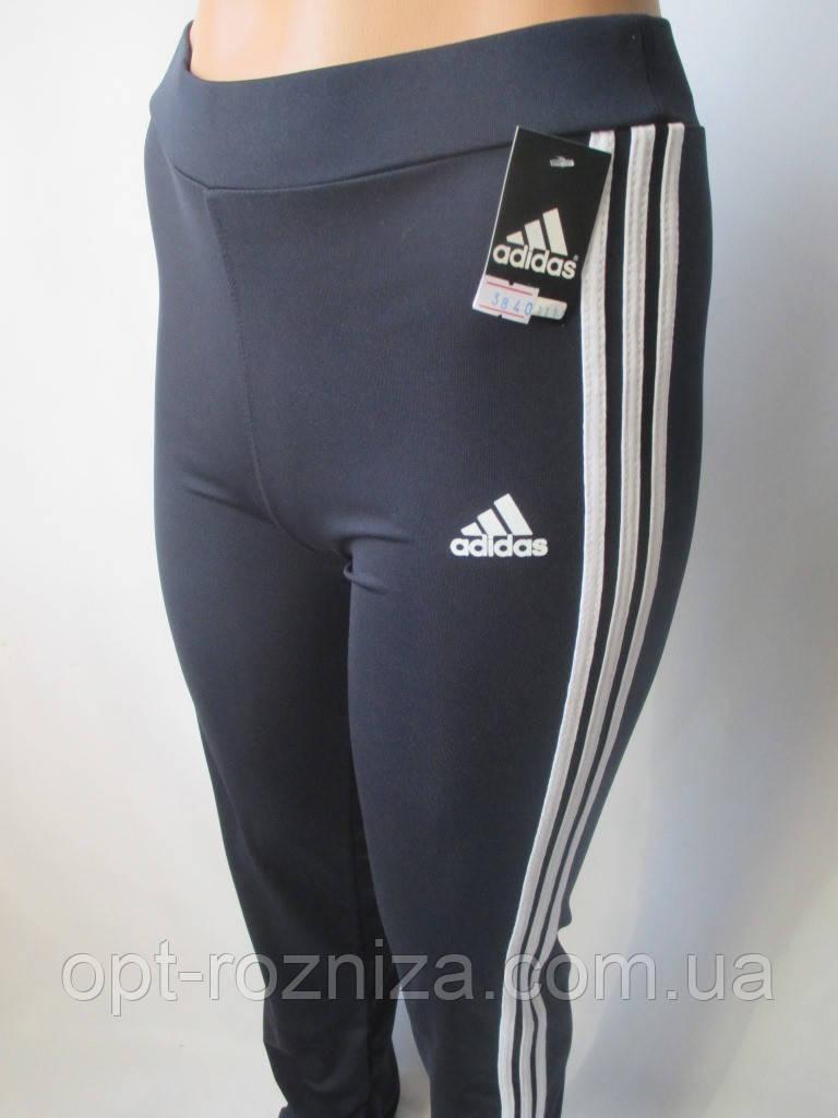 Прямые спортивные штаны из эластика.