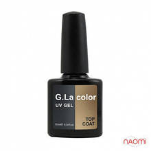 Топ для гель-лака G.La color UV GEL TOP COAT, 10 мл