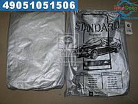 ⭐⭐⭐⭐⭐ Тент авто седан Polyester M 432*165*120 <STANDARD>  ST-M01