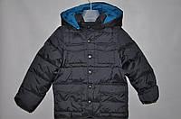 Куртка темно-серая 4-5 лет (М)
