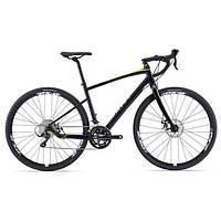 Городской велосипед гибрид Giant Revolt 1 черный M/L (GT 15)