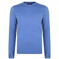Джемпер Pierre Cardin Crew Knit Light Blue - Оригінал
