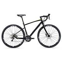 Городской велосипед гибрид Giant Revolt 1 черный L (GT)
