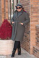 Женское пальто, большие размеры