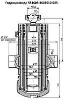 Гидроцилиндр подъема платформы (кузова) самосвалов МАЗ 551605-8603510