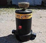 Гидроцилиндр подьема платформы (кузова) НЕФАЗ  (8560-8603010-06) 4-х штоковый, фото 2